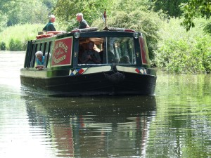 Boat trip on the Kennet and Avon Canal