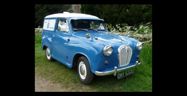 Preserved Austin A35 Van in RAC Livery © Vincent Tweed