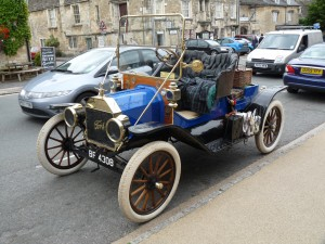 Ford Model T in Burford